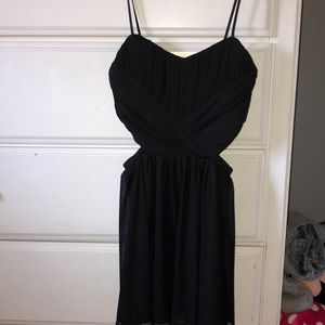 black STEPPING OUT dress